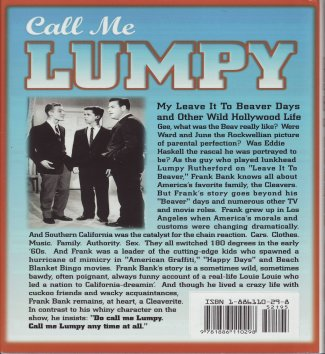 Call Me Lumpy Back Cover by Frank Bank