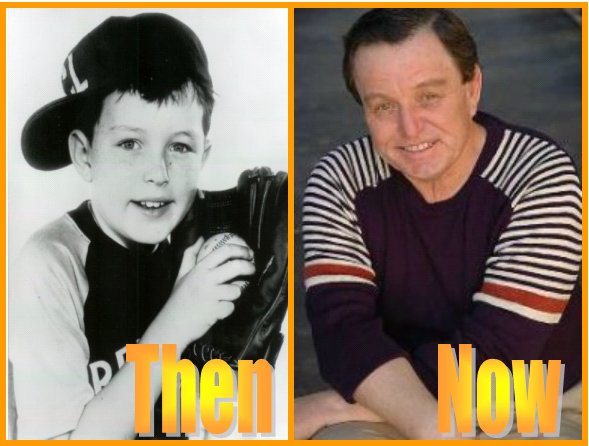 Jerry Mathers Then and Now Photo
