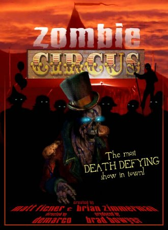 Zombie Circus One Sheet