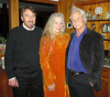 Karl with Lauren and Tony Dow