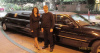 Jill and Karl with the Limo